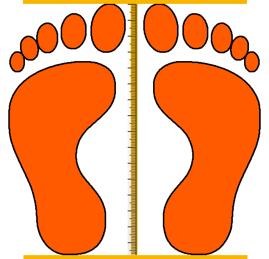 infant shoe sizes in inches